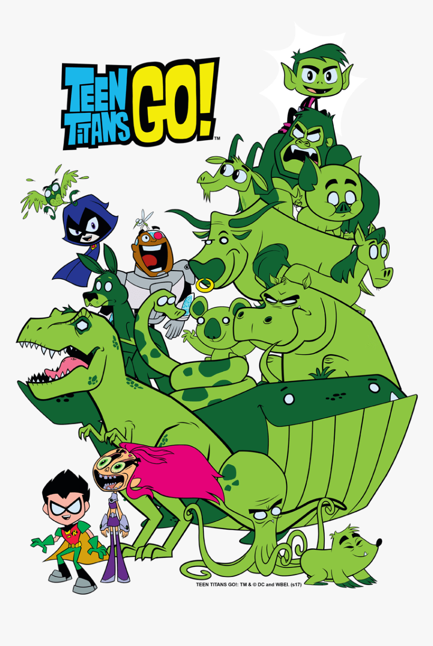 Beast Boy Teen Titans Go Teenage, HD Png Download, Free Download
