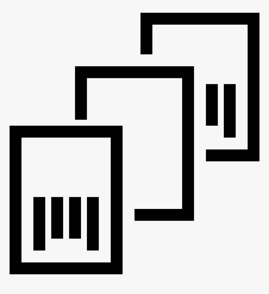 Separate Using A Bar Code Icon - Graphics, HD Png Download, Free Download