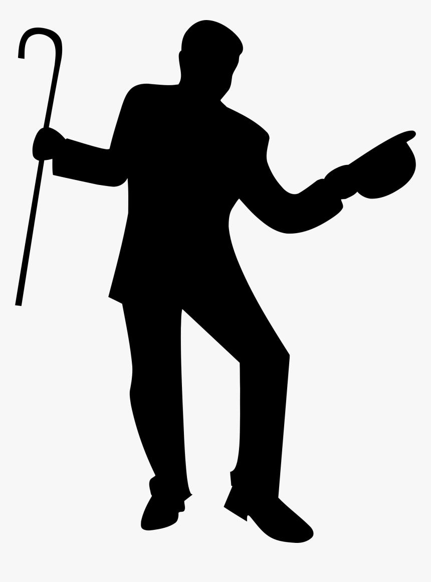 Silhouette Dance Clip Art Dancing Man Clipart Hd Png Download Kindpng