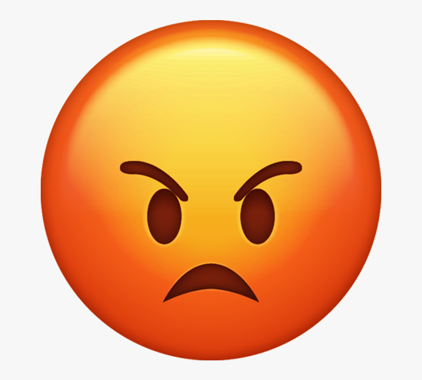Cartoon Angry Emoji Pictures To Pin On Pinterest Thepinsta - Angry Emoji Transparent Background, HD Png Download, Free Download