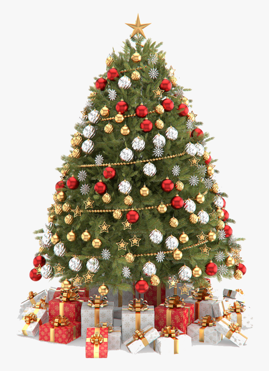 Christmas Tree Decoration Png, Transparent Png, Free Download
