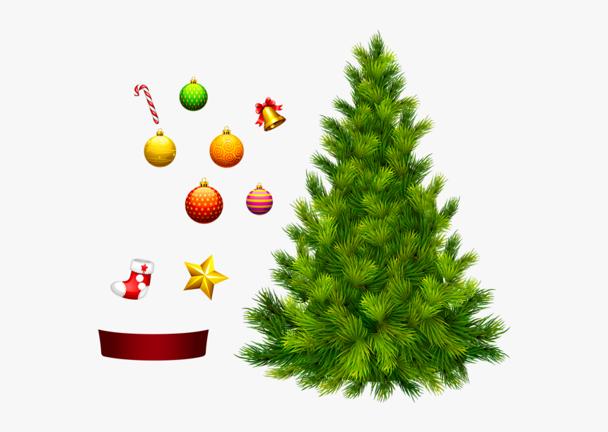 Christmas Tree Png - Decorate Christmas Tree Png, Transparent Png, Free Download