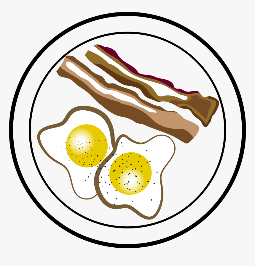 Png M 1434276673 Clip Bacon And Eggs Vector Clipart ...