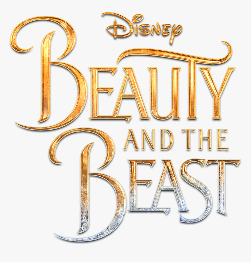 Beauty And The Beast Title , Png Download - Disney Beauty And The Beast Png Title, Transparent Png, Free Download