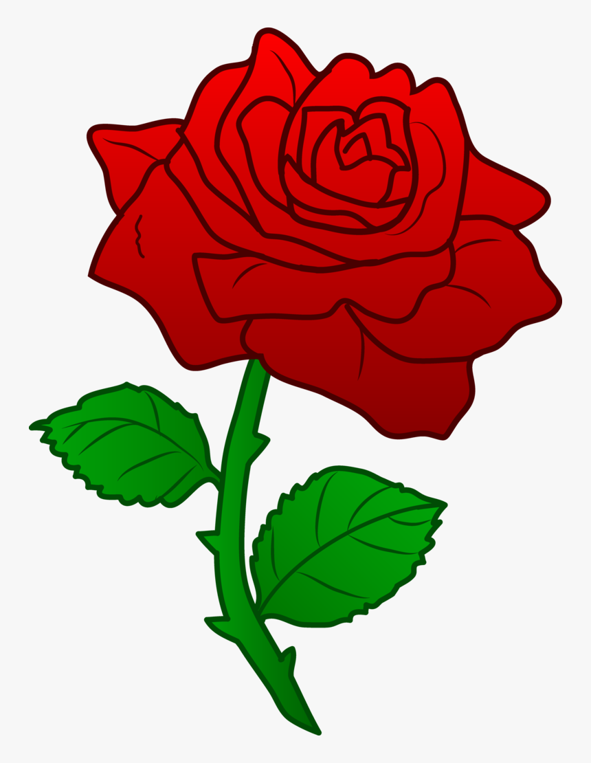 Download Beauty And The Beast Png Picture - Beauty And The Beast Rose Clipart, Transparent Png, Free Download