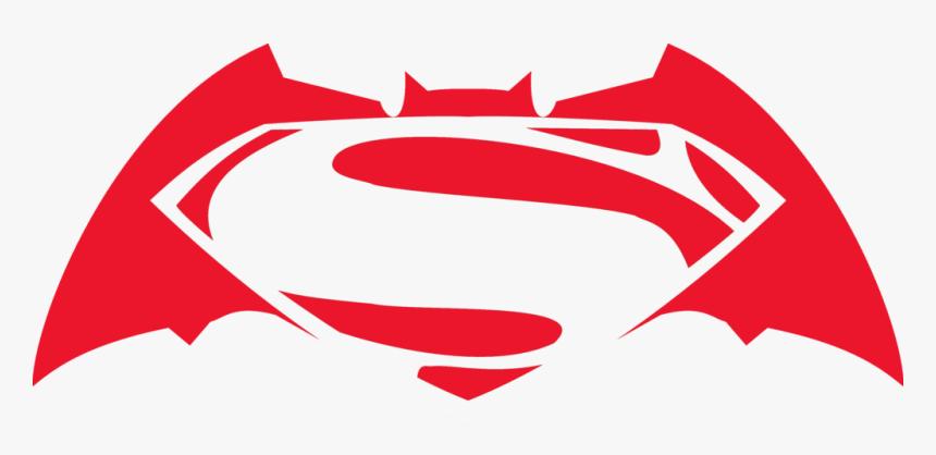 Batman V Superman Logo Png Vector Royalty Free Download - Batman Vs Superman Red Logo, Transparent Png, Free Download