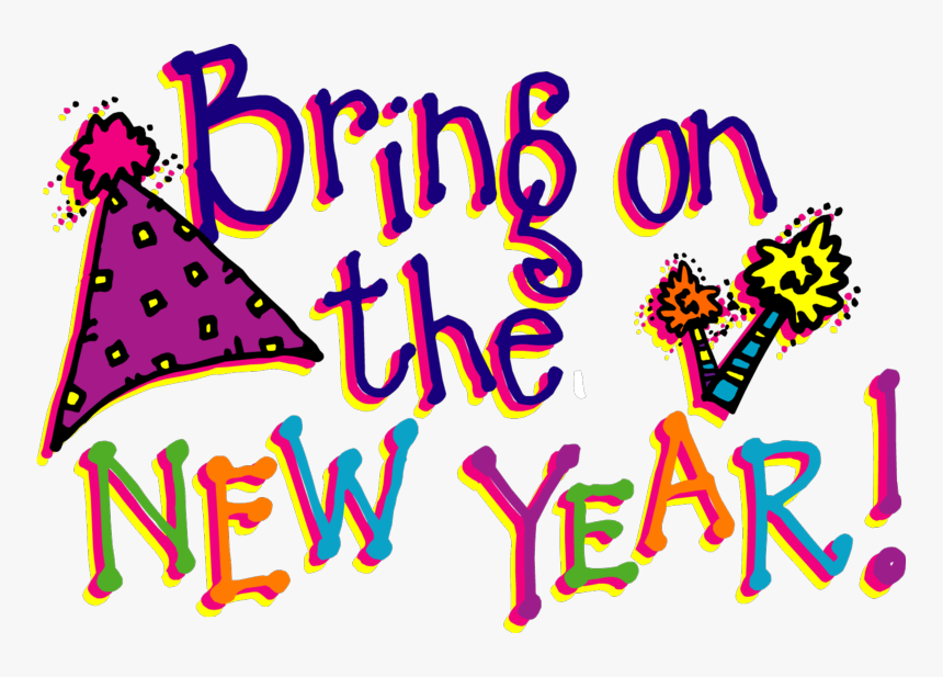 Happy New Year Clipart 2018 Free, HD Png Download, Free Download