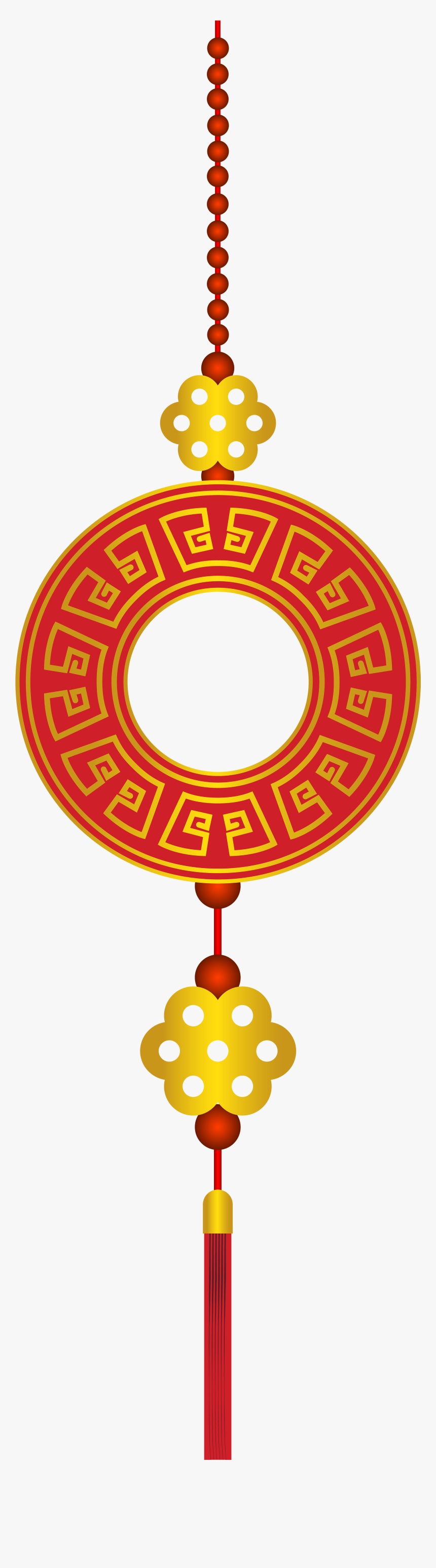 Chinese New Year Decor Png Clip Art - Chinese New Year Ornaments Png, Transparent Png, Free Download