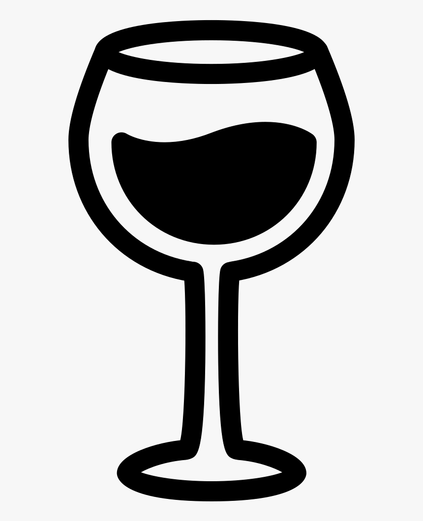 Red Wine Glass Wine Glass Svg Free Hd Png Download Kindpng