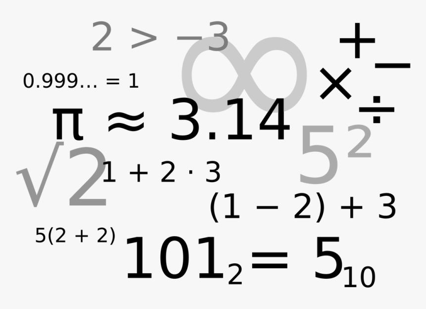 15 Confused Math Png For Free Download On Mbtskoudsalg - Math And Numbers, Transparent Png, Free Download