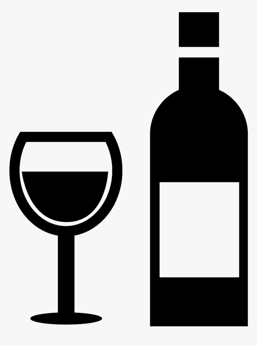 Svg Boxes Wine Glass - Wine Bottle Glass Icon, HD Png Download, Free Download