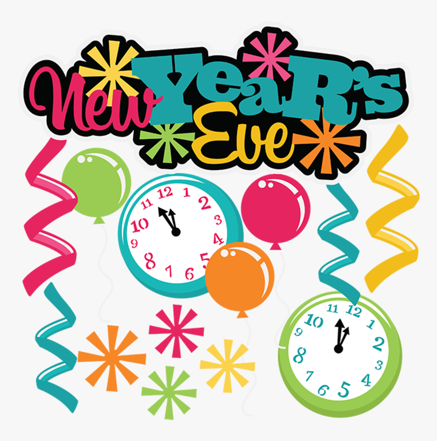 Happy Graphics Clip Art - New Years Eve Party Clip Art, HD Png Download, Free Download