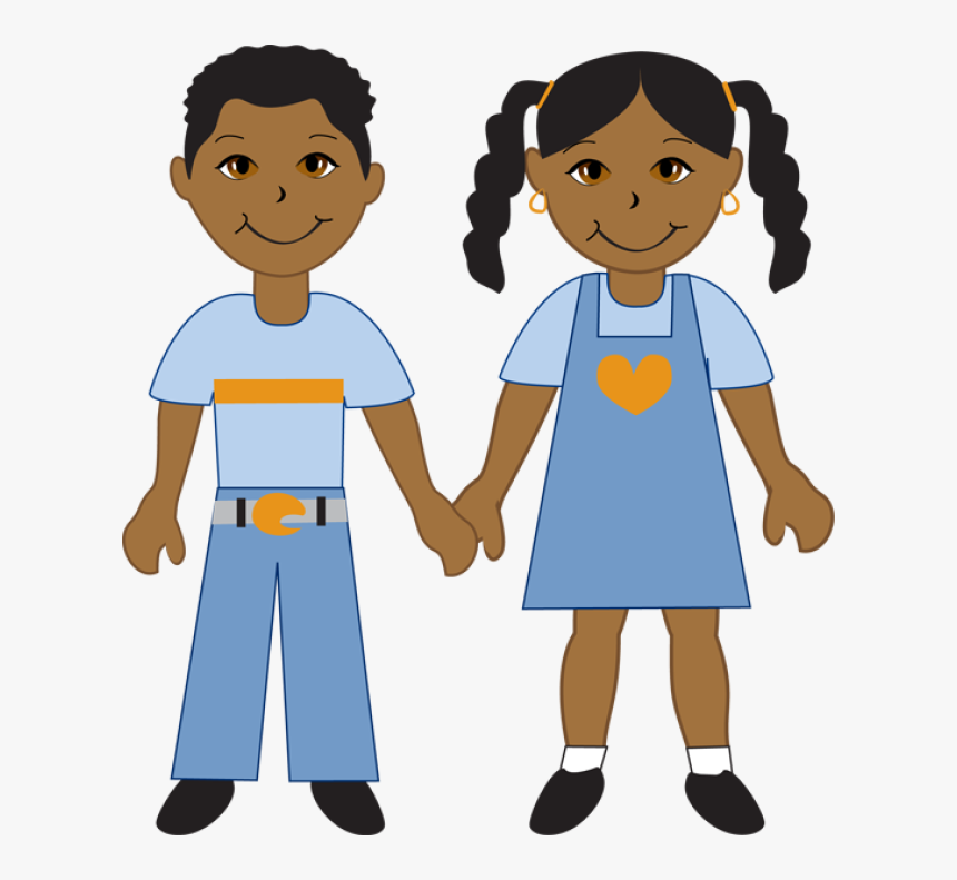 Boy And Girl Clip Art - Happy National Girl Scout Day, HD Png Download, Free Download