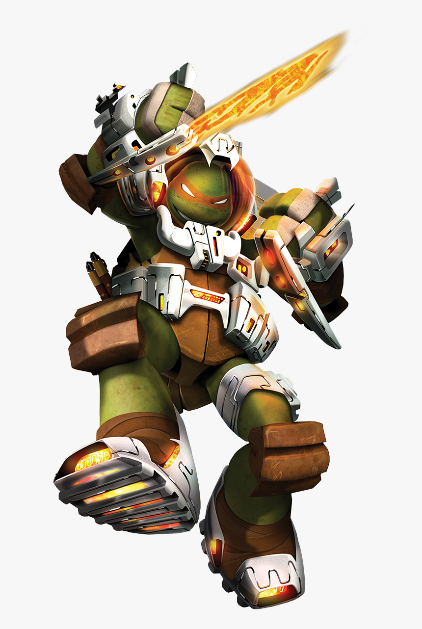 Mikey Space2015 Teenage Mutant Ninja Turtles Space Suit Hd Png