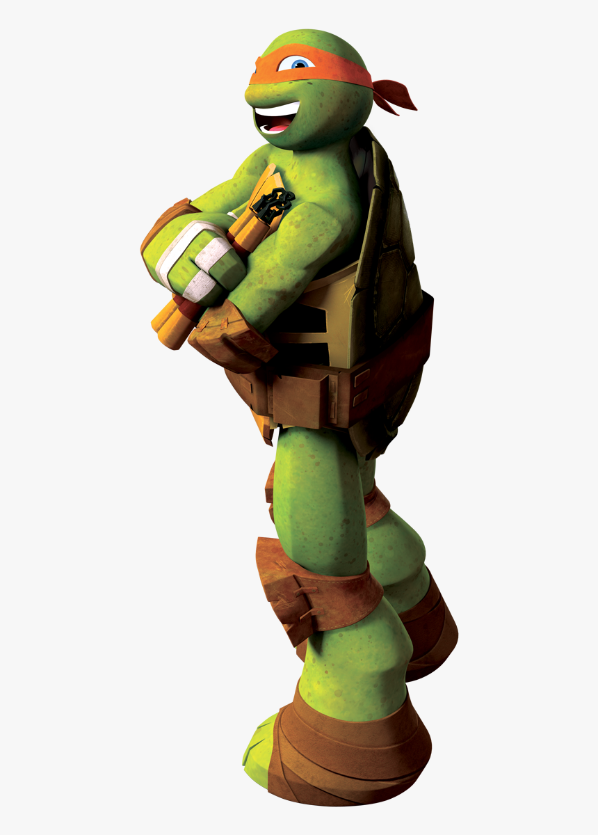 Transparent Mikey Color Ninja Turtles Names Hd Png Download