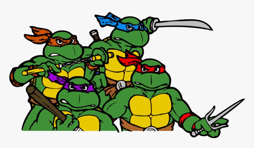 Raphael Leonardo Karai Michelangelo Teenage Mutant - Teenage Mutant Ninja Turtles Transparent, HD Png Download, Free Download