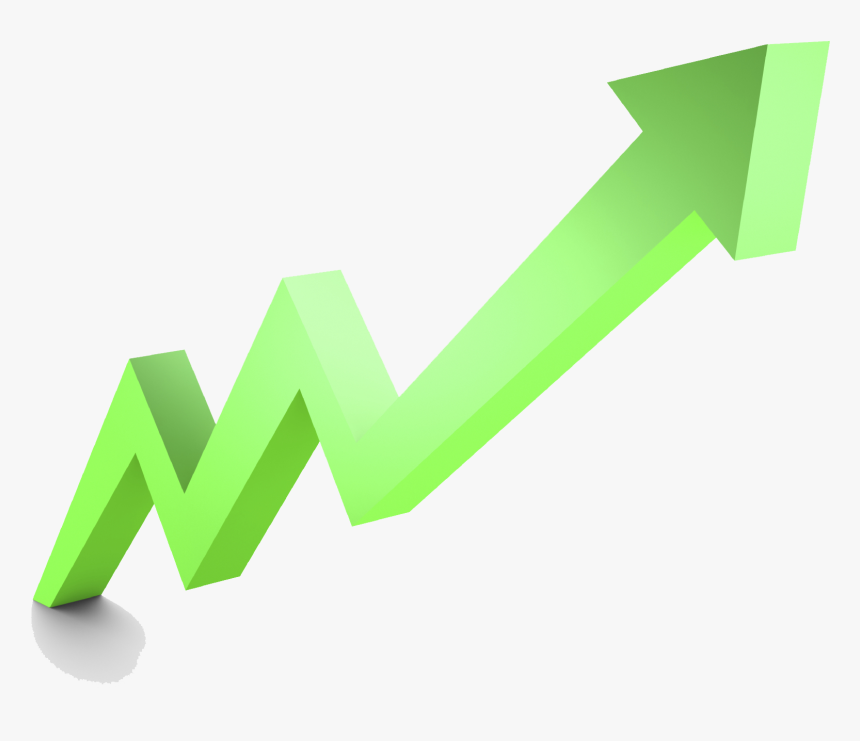 Stock Market Graph Up Png File - Stock Market Up Graphic, Transparent Png, Free Download
