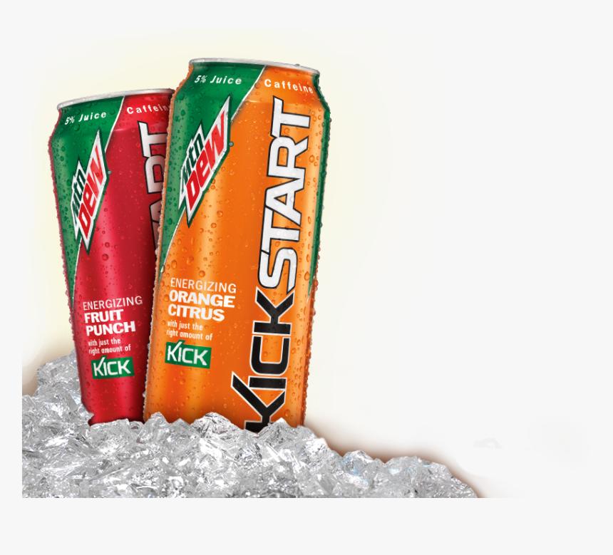 Mountain Dew Kickstart Png, Transparent Png, Free Download