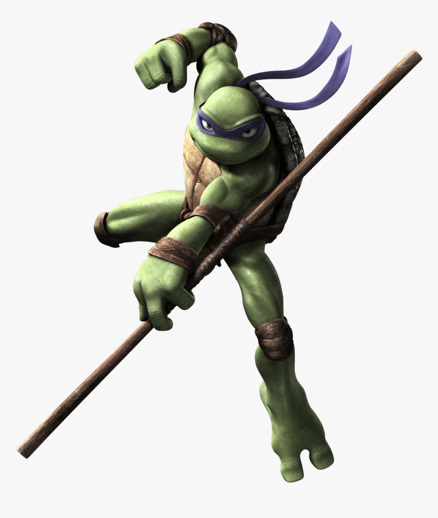 Tmnt Jumping Donatello Teenage Mutant Ninja Turtles 2007 Hd Png