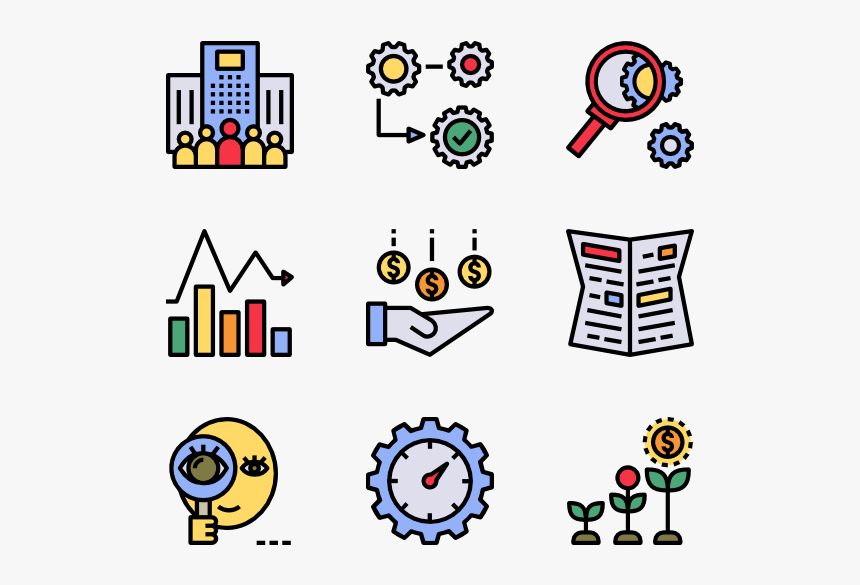 Essential Set - Human Resources Color Icon, HD Png Download, Free Download