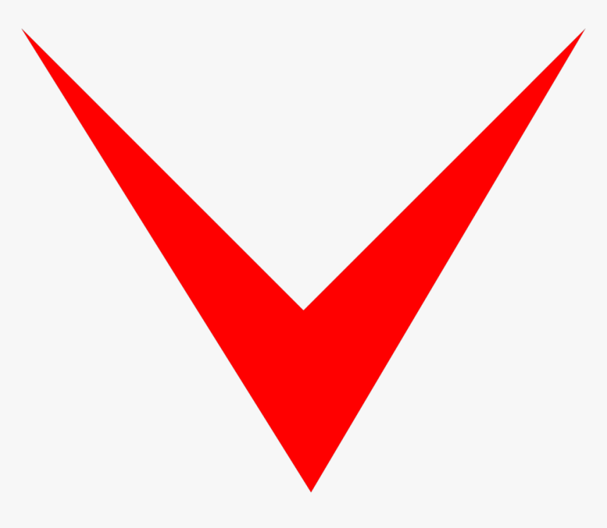 Free Stock Photos - Red Arrow Png Down, Transparent Png, Free Download