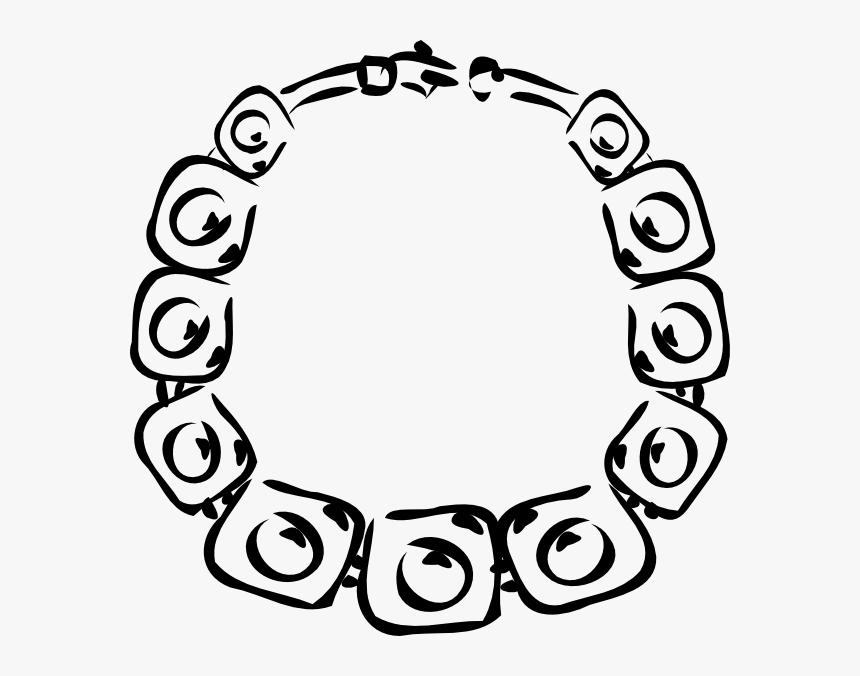 Necklace Svg Clip Arts - Cartoon Necklace Transparent Png, Png Download, Free Download