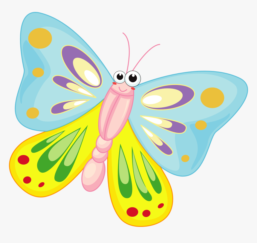 Butterfly Clipart Free Clipart - Butterfly Clipart, HD Png Download, Free Download