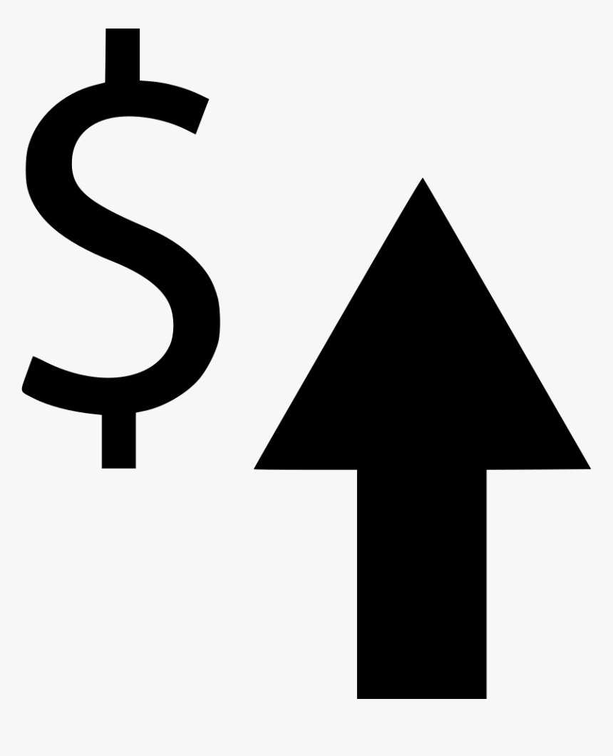 Arrow Up Stock Money Comments - Money Arrow Png, Transparent Png, Free Download