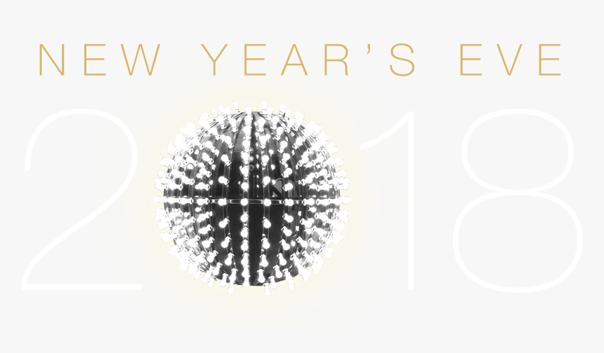 New Years Eve 2018 Png, Transparent Png, Free Download