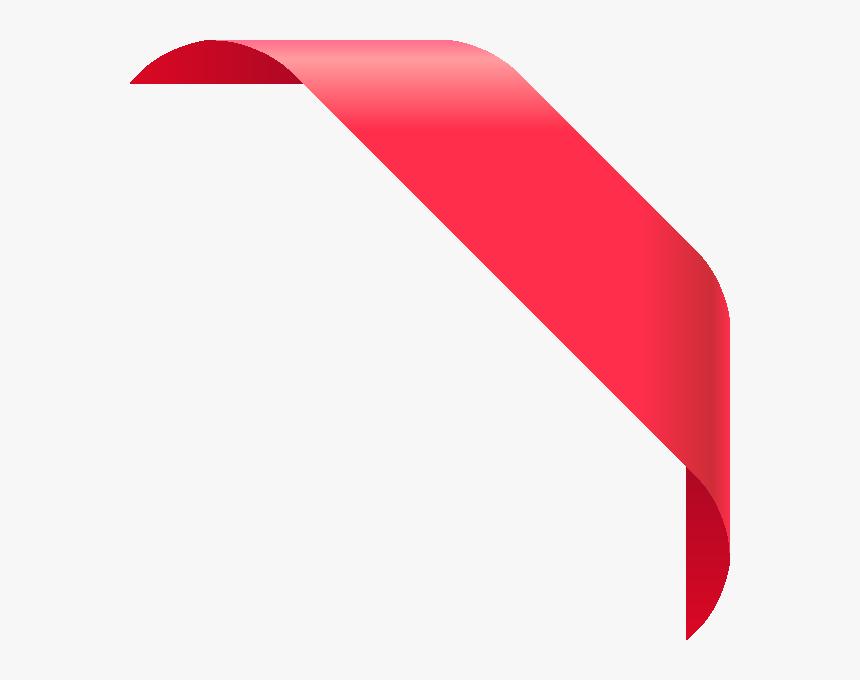 Corner Ribbon Png - Corner Ribbon Vector Png, Transparent Png, Free Download