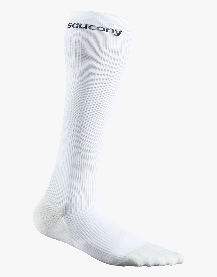 Saucony White Socks Png Image - Sock, Transparent Png, Free Download