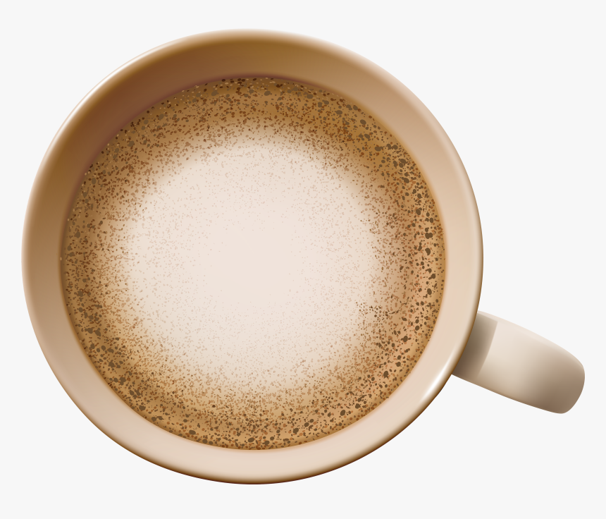 Coffee Transparent Png Clip Art - Top View Coffee Cup Png, Png Download, Free Download