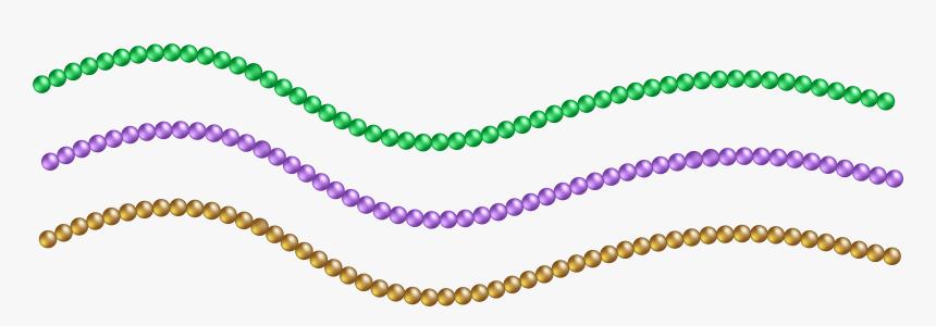 Beads Vector Bead Necklace Mardi Gras Beads Png Transparent Png