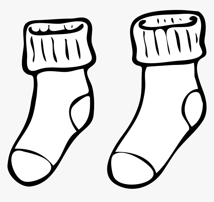 Clip Art At Clker - Socks Clip Art, HD Png Download, Free Download