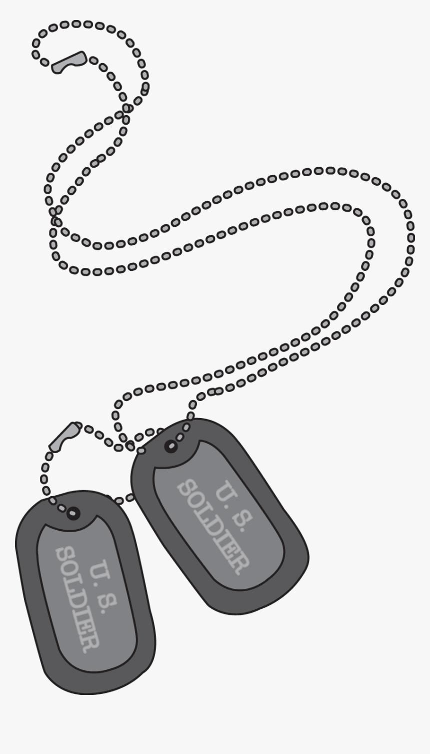 Free Military Dog Tags Clipart, HD Png Download, Free Download