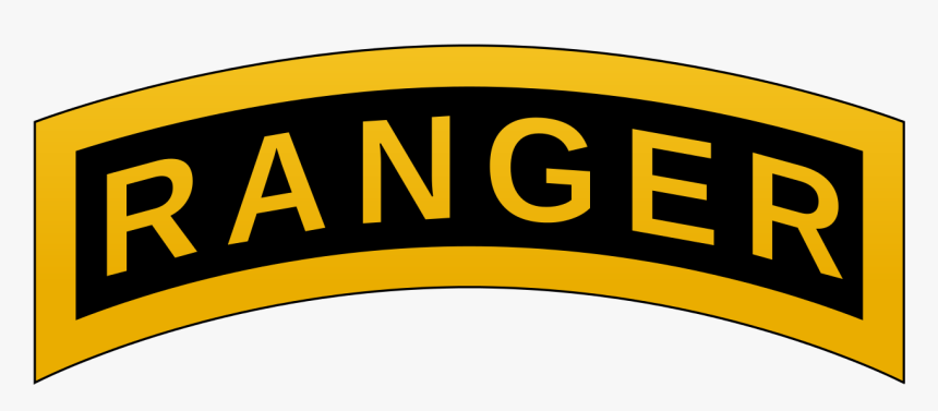Military Svg Tag Clipart - Army Ranger Tab, HD Png Download, Free Download
