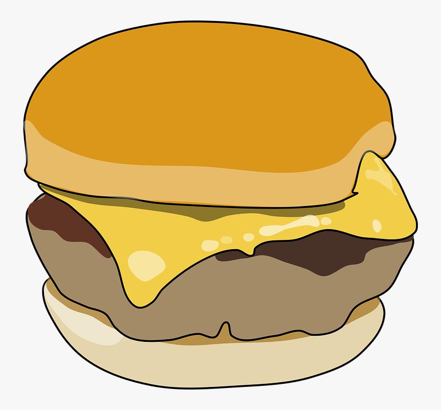 Burger Clipart Transparent Background Hamburguer Desenho Sem