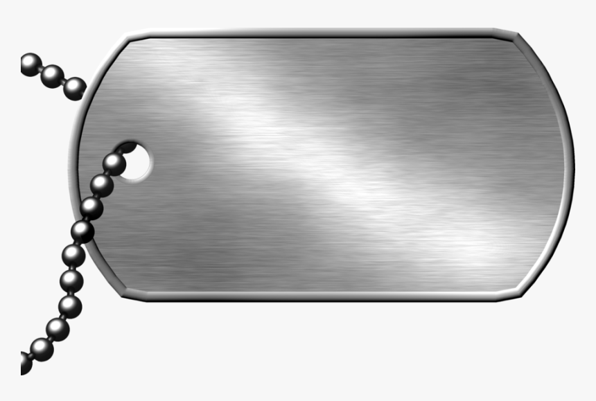 Dog Tag Military Army Clip Art - Military Dog Tag Png, Transparent Png, Free Download