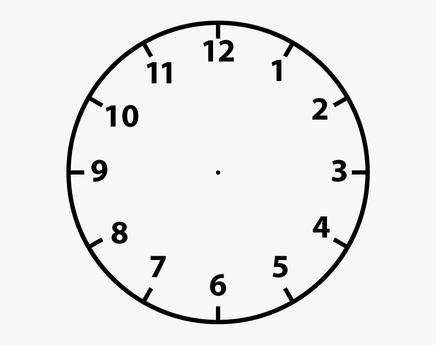 Clock Face Clip Art Clipart Clock Hd Png Download Kindpng