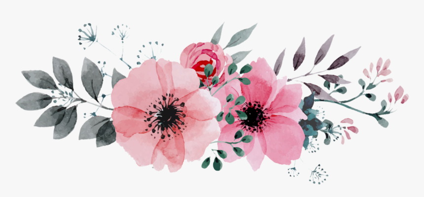 Clip Art Png For Free Watercolor Flowers Png Transparent Png Kindpng