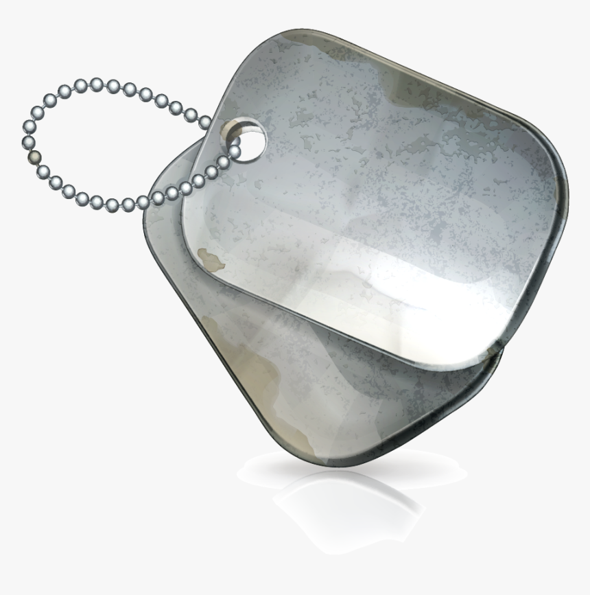 Transparent Dog Tag Chain Png - Veteran Dog Tag Png, Png Download, Free Download