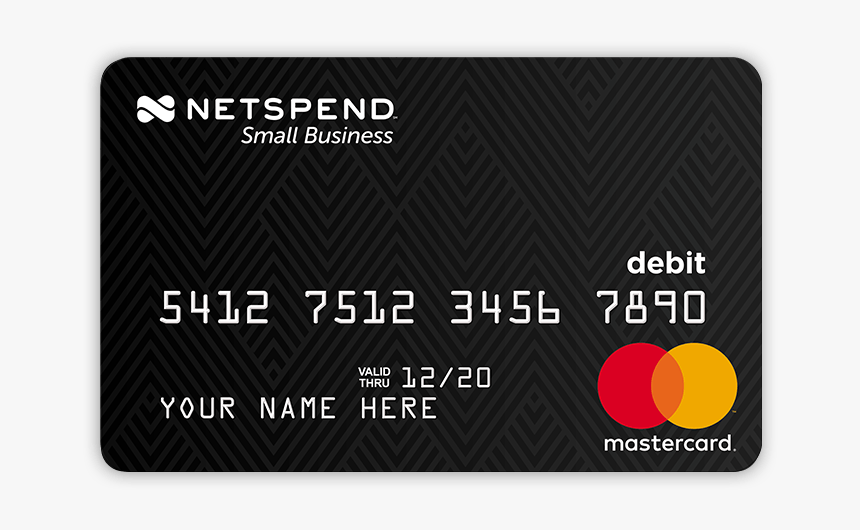 Netspend Small Business Prepaid Mastercard - Credit Card, HD Png
