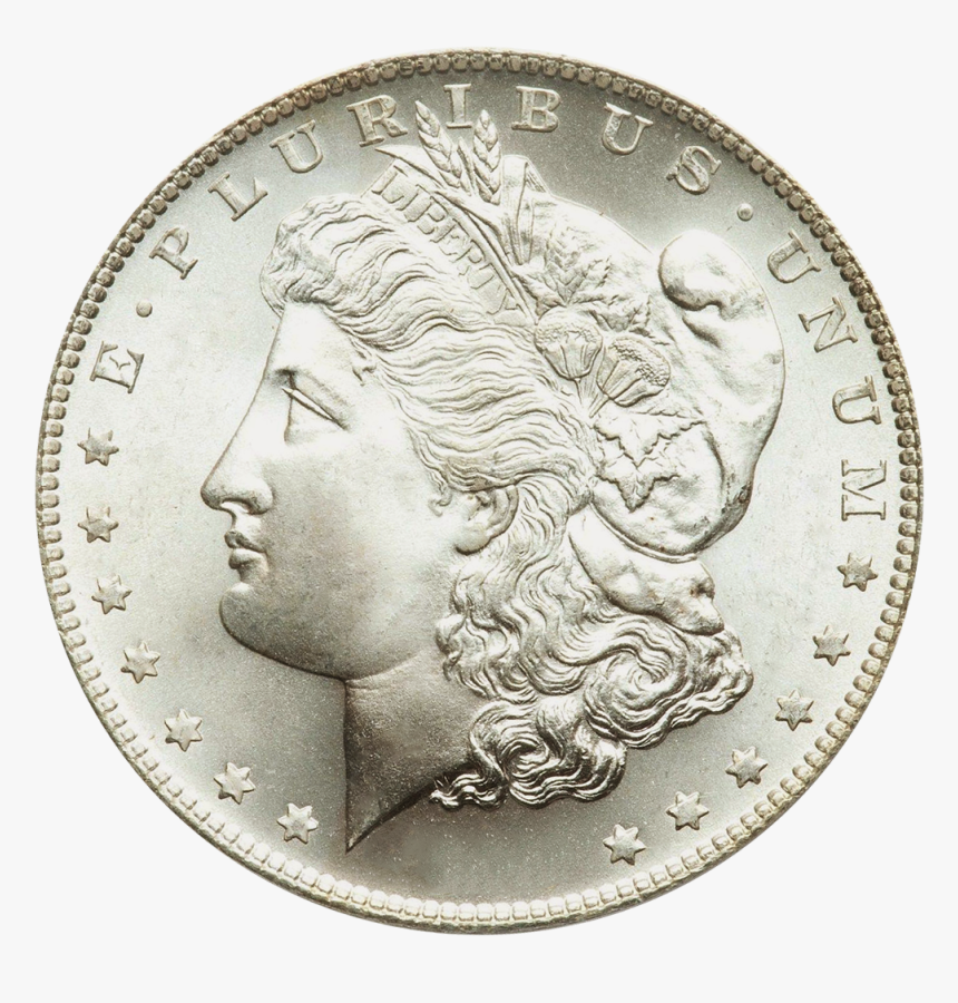 Silver Dollar Png - 1879 Silver Dollar Value, Transparent Png, Free Download