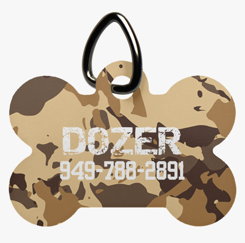 Desert Camo Luv Tag - Puppy, HD Png Download, Free Download