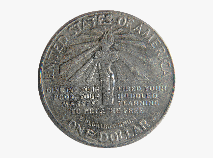 Old Dollar Silver Coin Png - Old Silver Coin Png, Transparent Png, Free Download