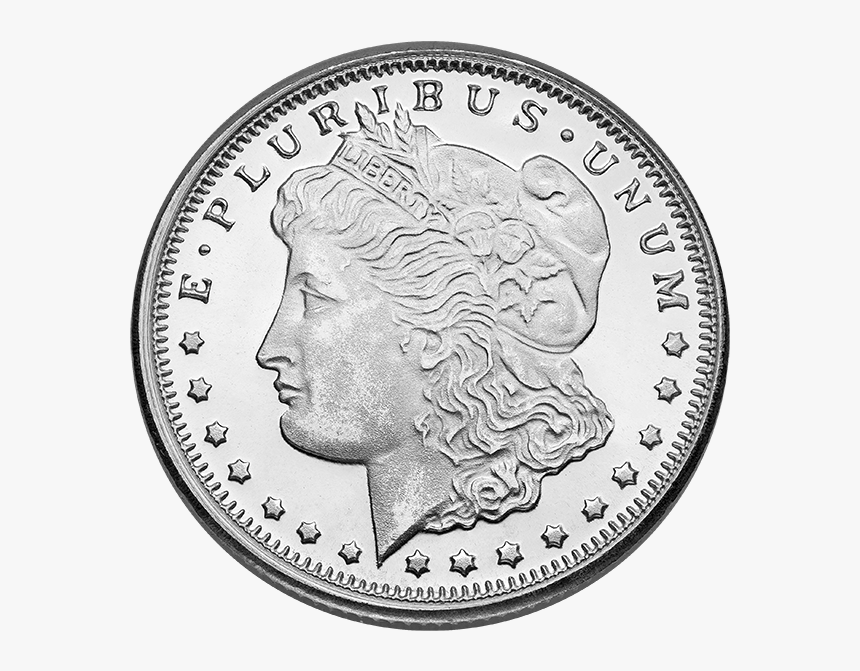 Morgan Silver Dollar Png, Transparent Png, Free Download