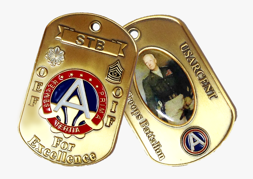 Transparent Military Dog Tags Png - George S Patton Jr, Png Download, Free Download