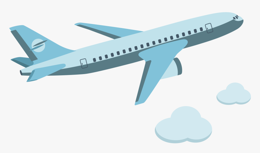 transparent airplane cartoon png