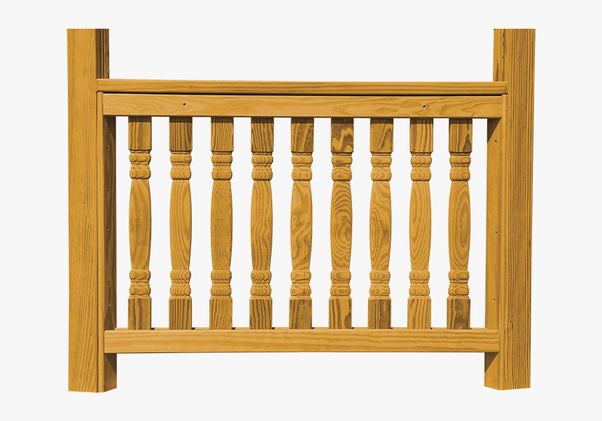 Wood Railing Png, Transparent Png, Free Download