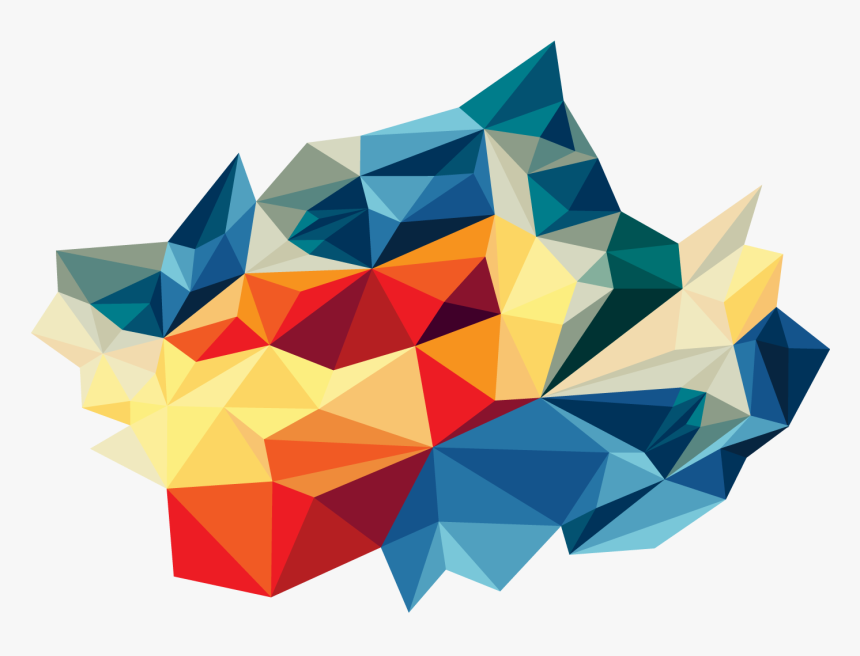 High Resolution Abstract Triangles Png Icon - Abstract Triangles Transparent, Png Download, Free Download